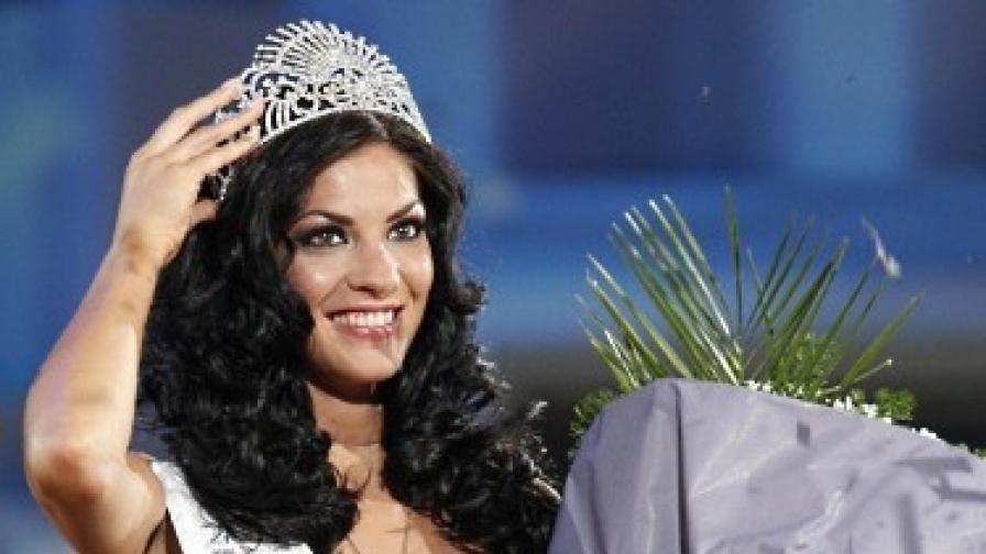 Мис България 2011 печели онлайн вот преди Мис Свят