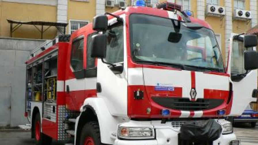 Новородено загина при пожар в Плевен