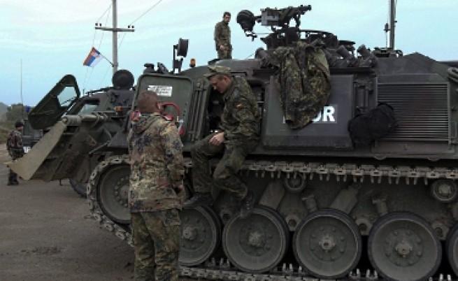 Натовски войници простреляни при сблъсъци в С. Косово