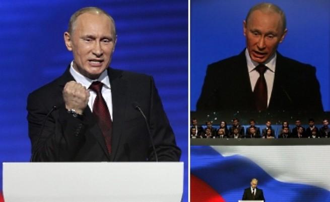 Владимир Путин управлява Русия като гигантски битпазар
