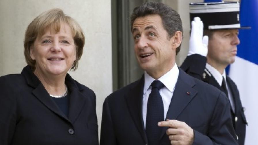 Меркел и Саркози ще готвят нов договор за ЕС
