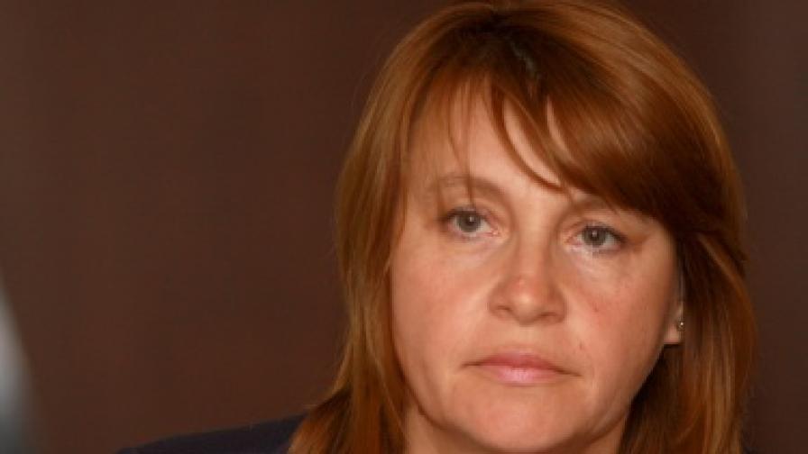 Заместник-министърът на труда и социалната политика Валентина Симеонова