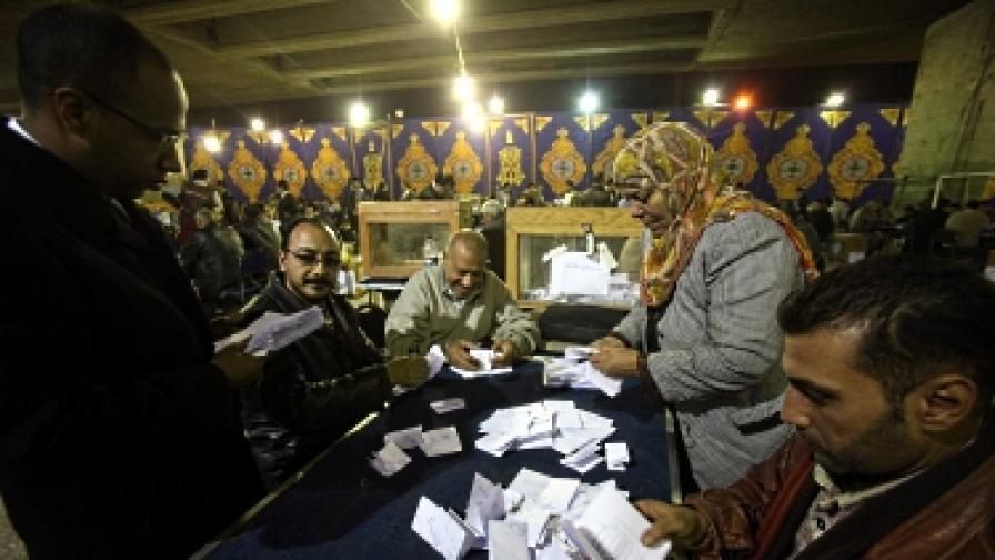 Ислямистите с голяма преднина на изборите в Египет