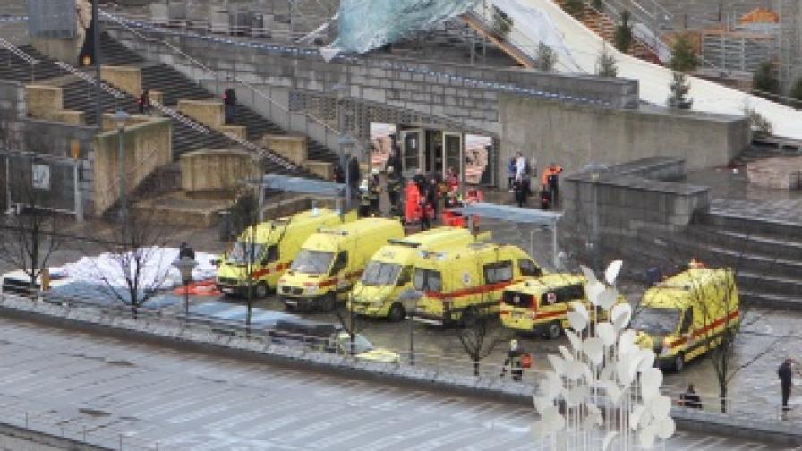 Стрелба и взривове в центъра на белгийския град Лиеж, поне 4 жертви