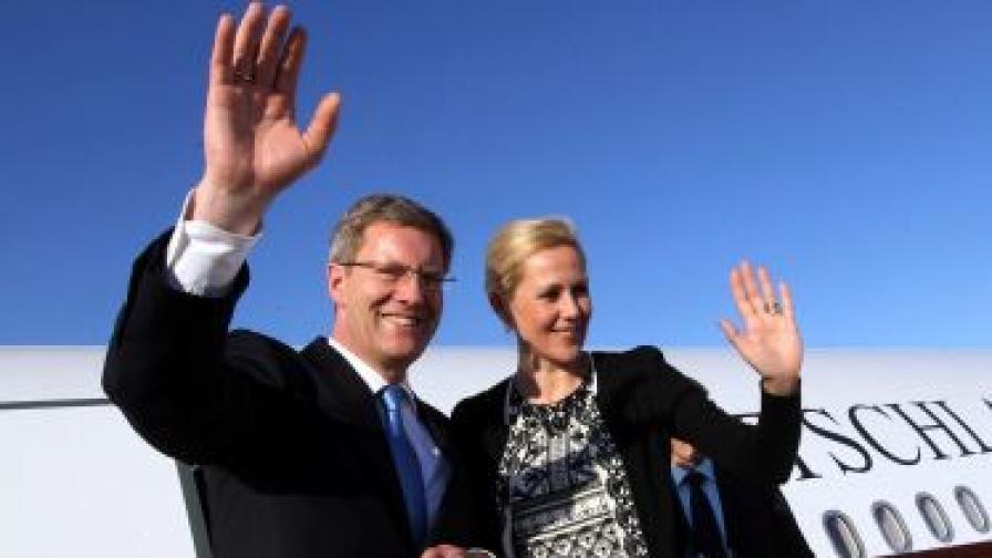 Германският президент беше обвинен в укриване на личен заем
