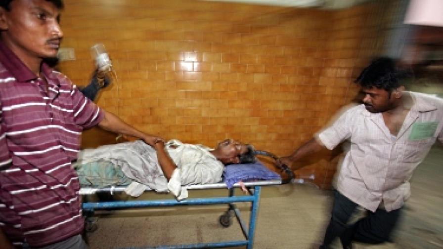 Индия: Алкохол менте уби 155 души