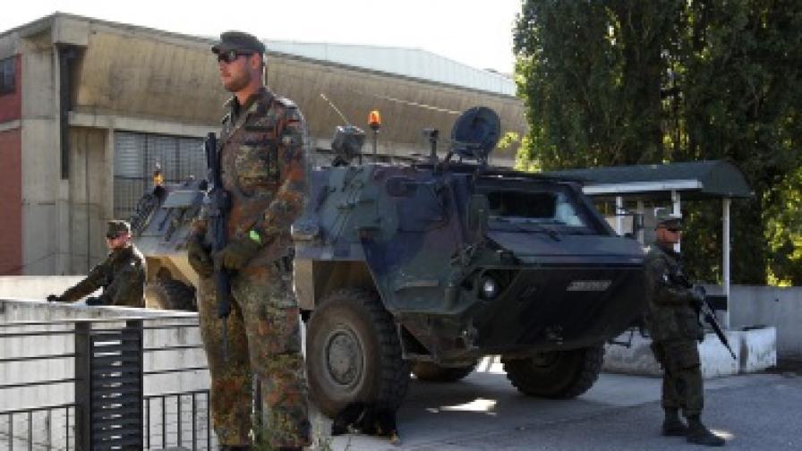 Масов бой в Косовска Митровица
