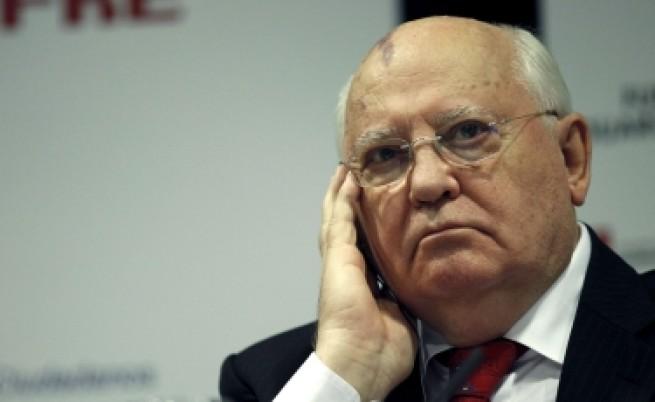 Михаил Горбачов: Срамувам се от Путин