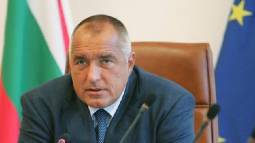 Бойко Борисов в Министерския съвет навръх Нова година