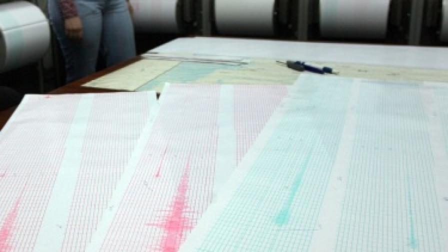 Слабо земетресение край Тополовград