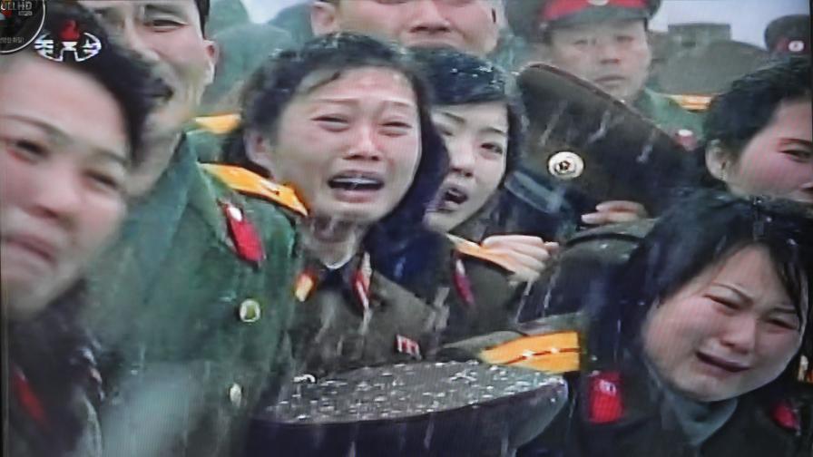 Скръбта на севернокорейците споделиха и животните