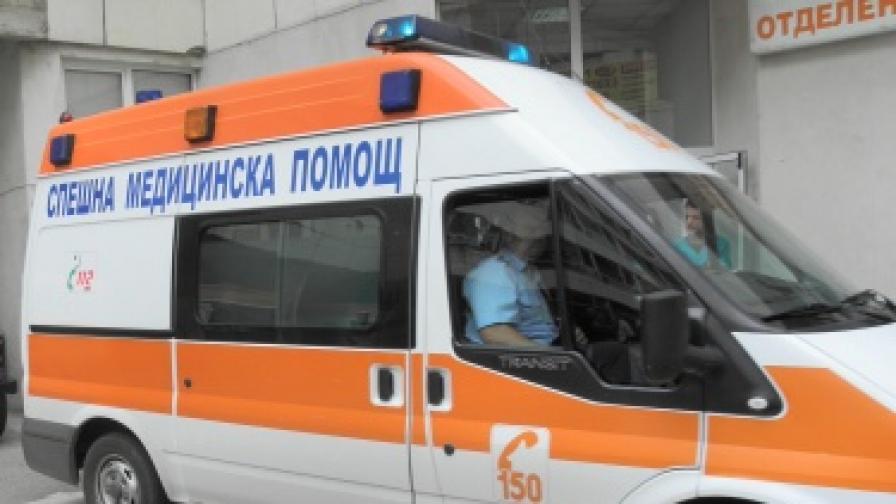 Две коли блъскат една жена в Пловдив