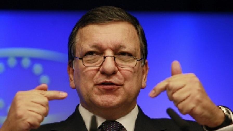 Председателят на ЕК Жозе Мануел Барозу