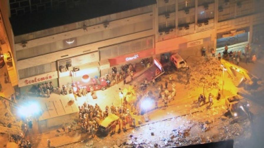 Три многоетажни сгради рухнаха в Рио де Жанейро