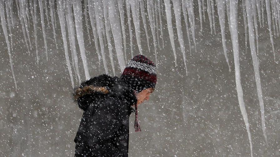 Студът в Румъния