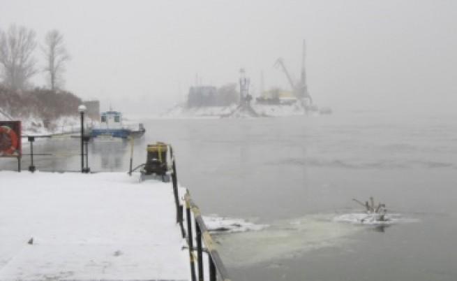Ледоходът по Дунав достигна 60%