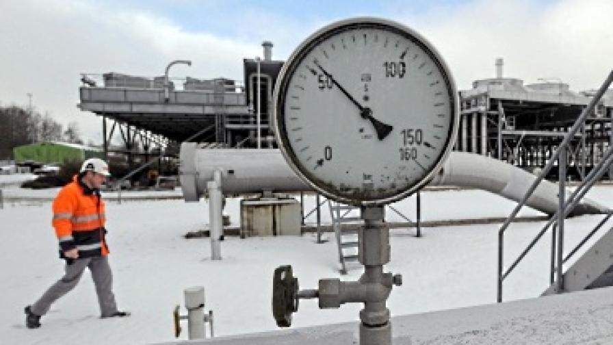 """""""Газпром"""" и ЕС спорят дали са намалели доставките на газ"""