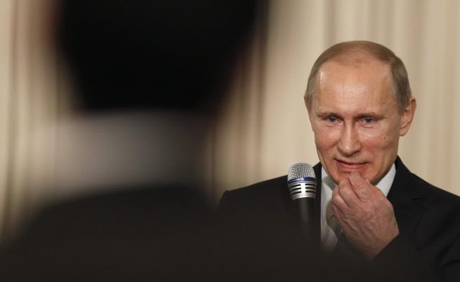 Путин към