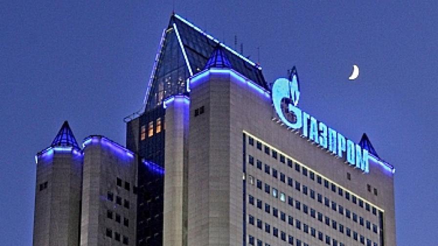 """""""Газпром"""" залага на увеличение на износа си към Европа през 2012 г."""