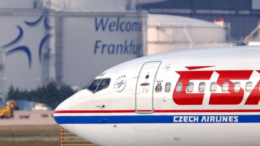 Официално: Чешките авиолинии спират полетите до София