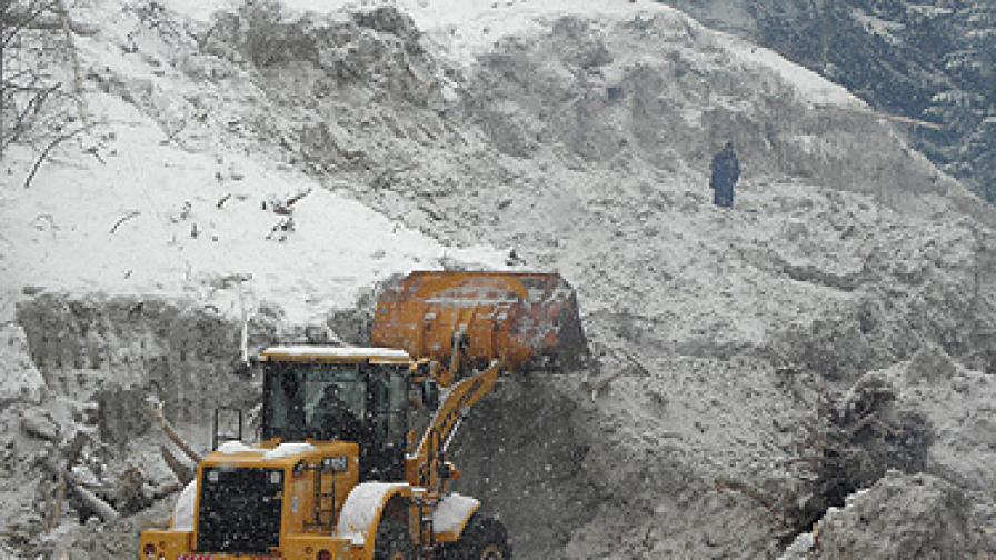 АПИ предупреждава за лавини в проходите