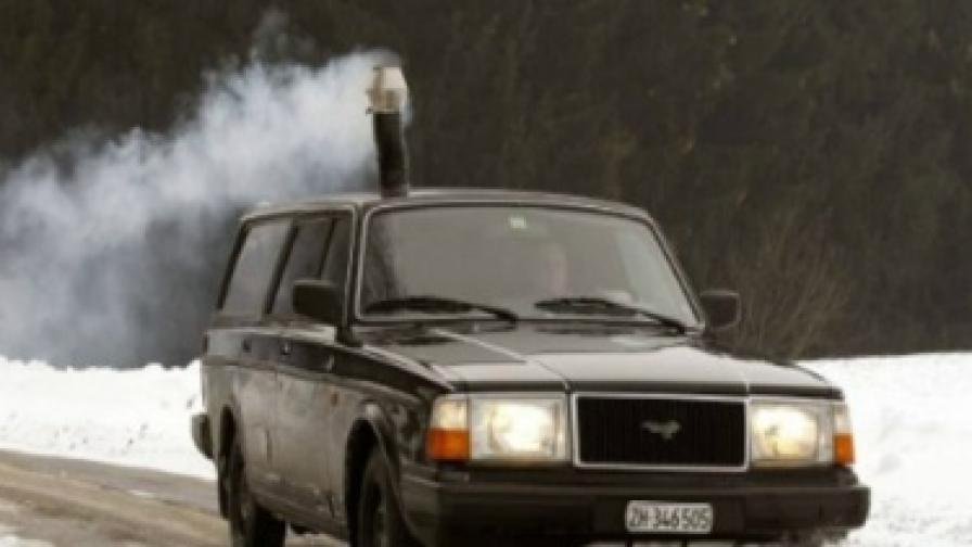 Печка на дърва в колата? Може...
