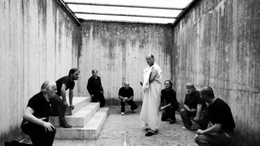 """Кадър от """"Цезар трябва да умре"""" на братя Тавиани - """"Златна мечка на Берлинале 2012"""