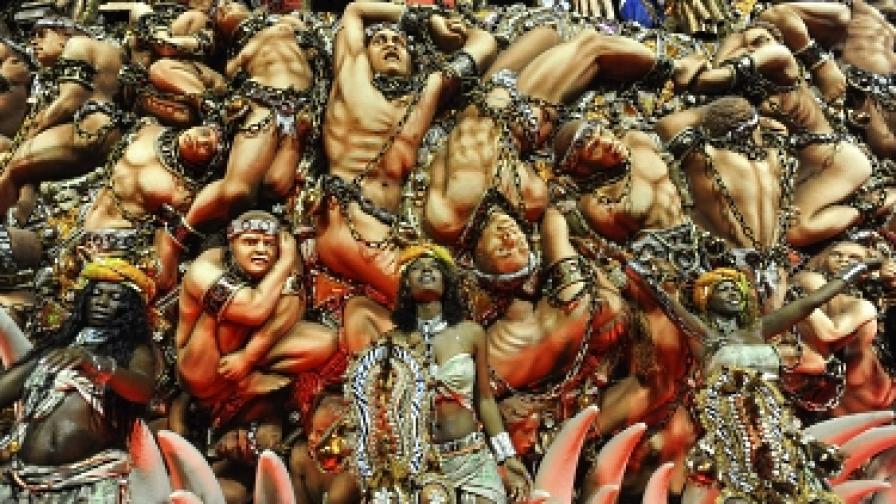 Карнавалът в Рио - празник за сетивата