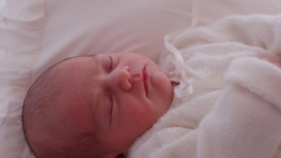 Първи снимки на новородената шведска принцеса