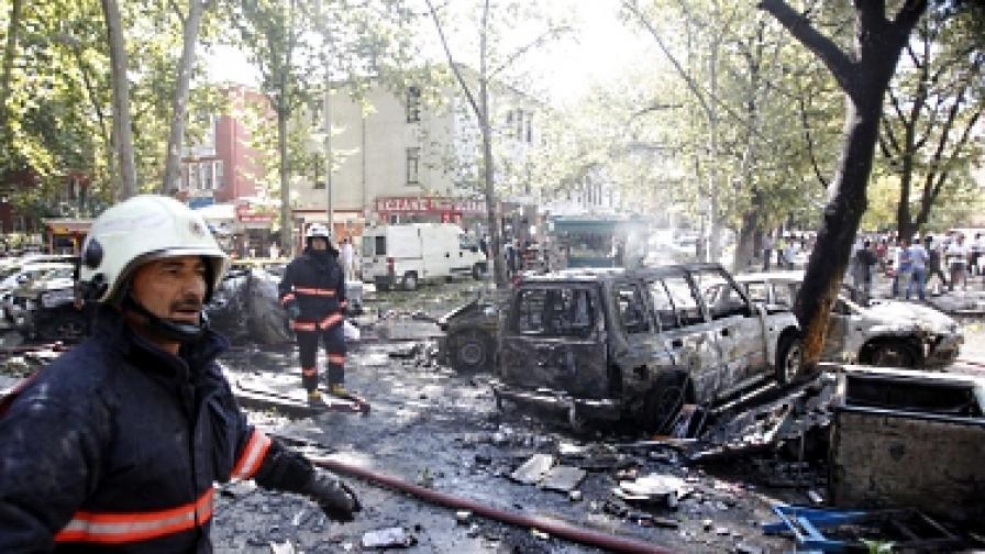 Бомба избухна в Анкара