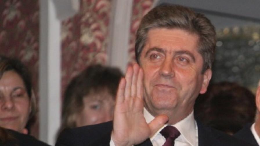 Георги Първанов: Кандидатирам се за лидер на БСП