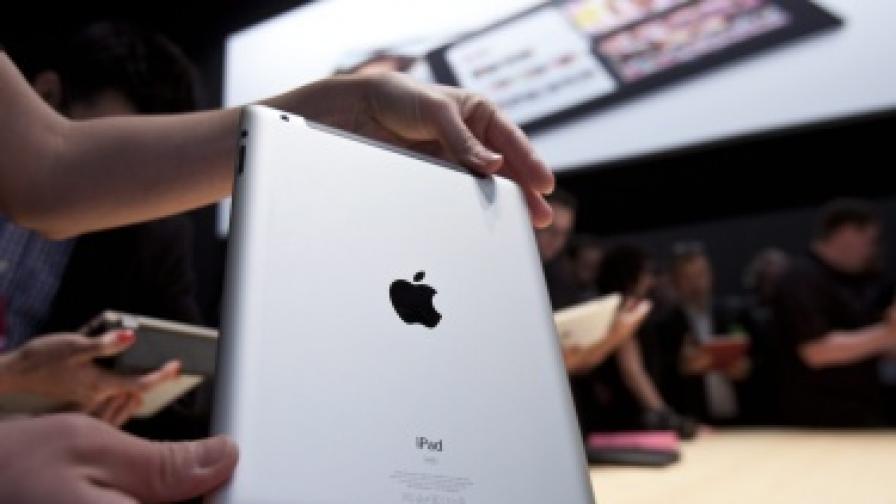 """""""Епъл"""" показа новия iPad"""