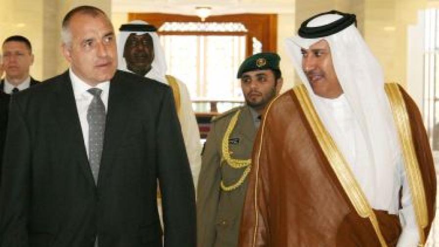 Бойко Борисов води 103-ма бизнесмени в Катар