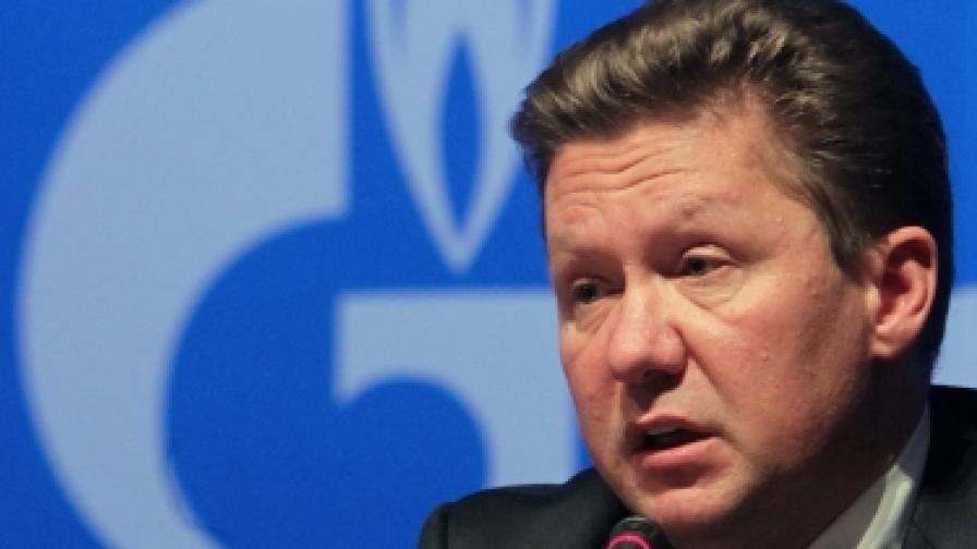 "Президентът на ""Газпром"" Алексей Милер"