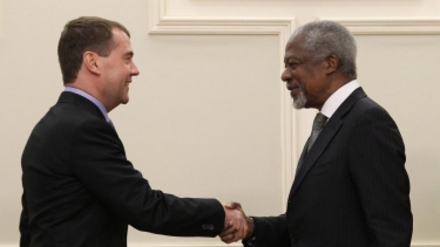 Мисията на Кофи Анан - последен шанс за Сирия