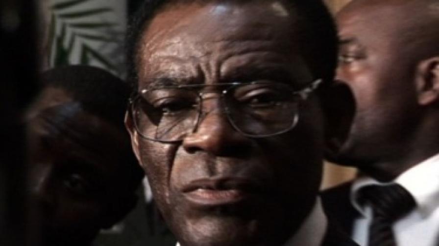 Президентът на Екваториална Гвинея Теодоро Обианг Нгуема