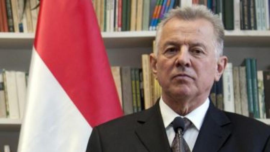 Отнеха докторската титла на унгарския президент
