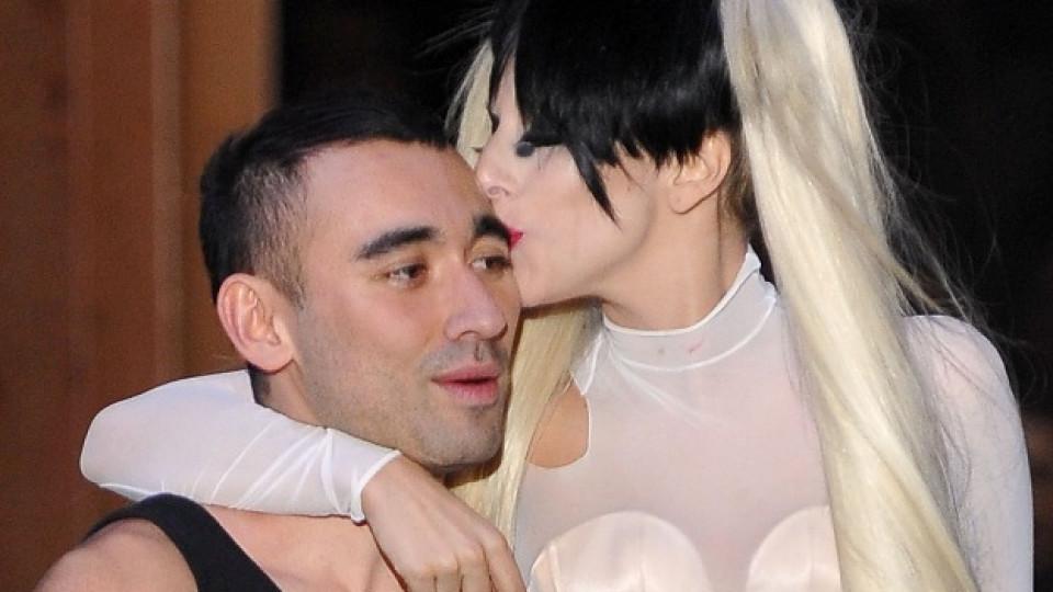 Никола Формичети и Лейди Гага