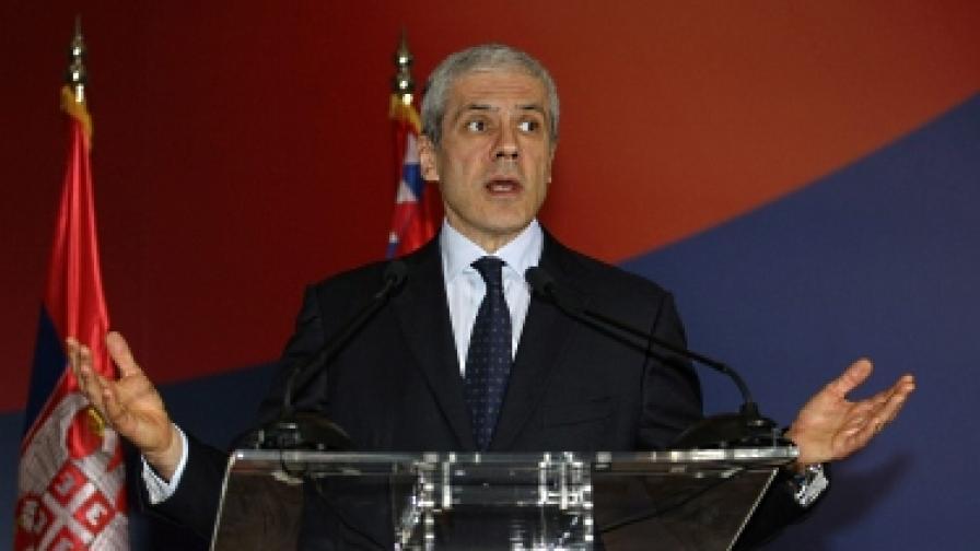 Сръбският президент Борис Тадич подаде оставка