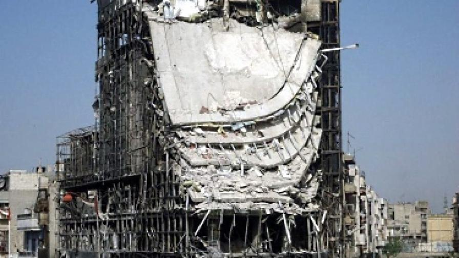 Дамаск спирал насилието, ама утре