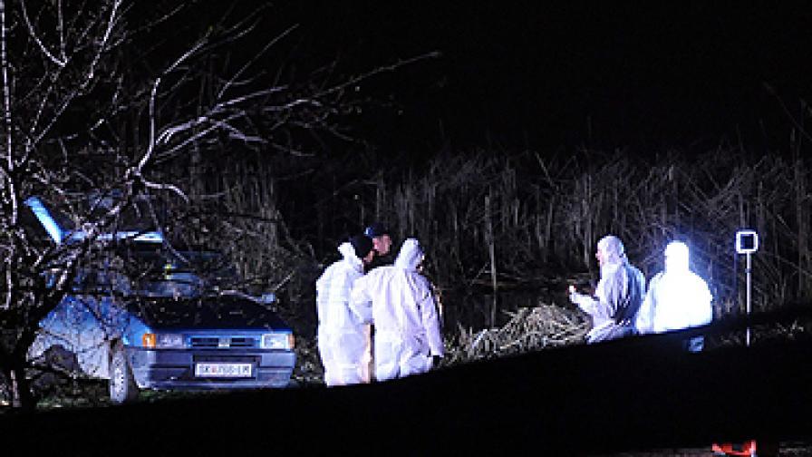 Три оръжия са използвани за убийството край Скопие