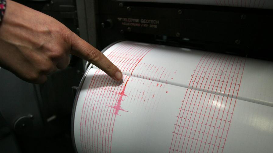 Земетресение с магнитуд 4,6 на о-в Крит