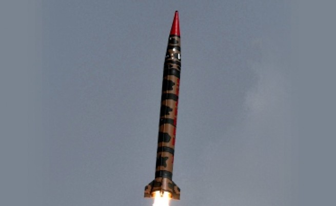 Пакистан също тества успешно балистична ракета