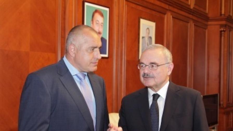 """Борисов: """"Набуко"""" е в далечното светло бъдеще"""