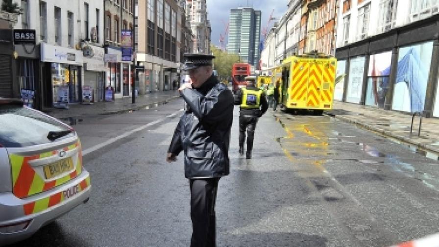 Тревогата в Лондон - заради неиздържан шофьорски изпит
