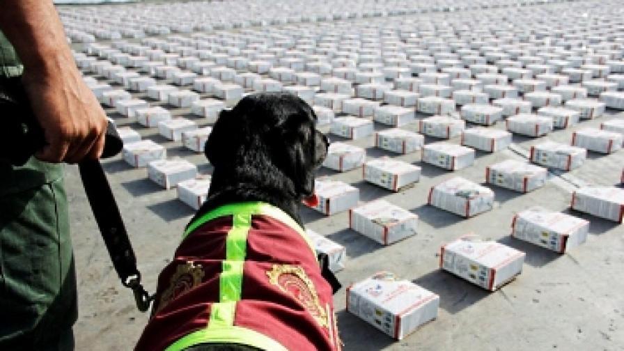 В Барселона иззеха пратка от 700 кг кокаин