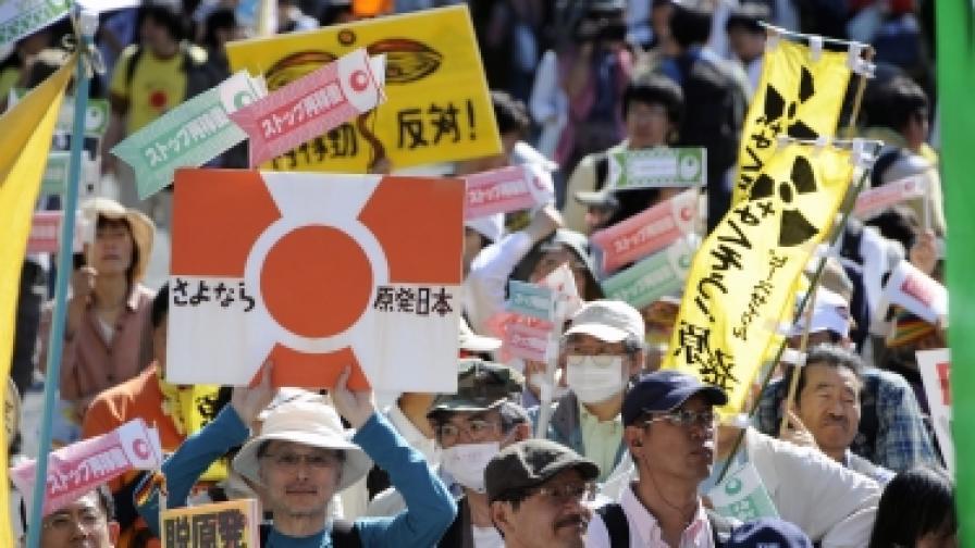 Без атомна енергетика в Япония