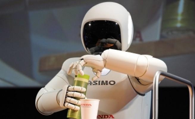 Хуманоиден робот гостува на София