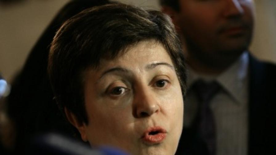 Кр. Георгиева: Кризата ще ни обедини