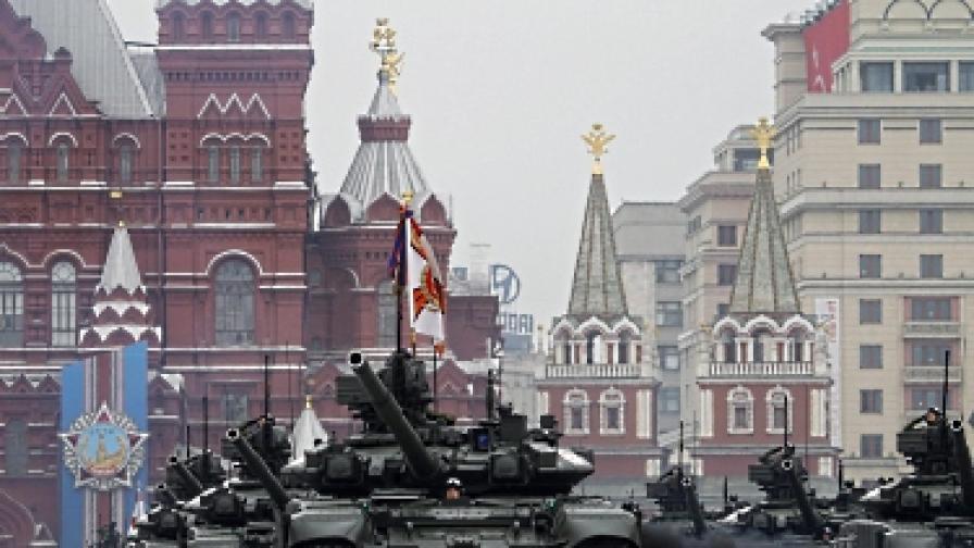 Русия празнува пищно Деня на победата